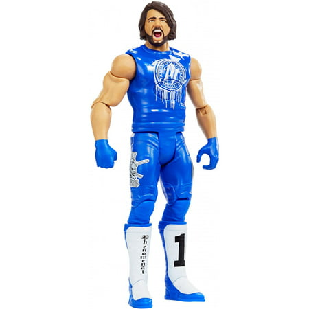 WWE Tough Talkers Total Tag Team Aj Styles Action