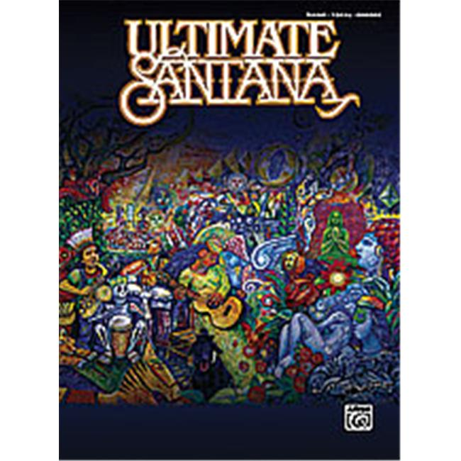 Alfred 00-29096 Ultimate Santana - Music Book