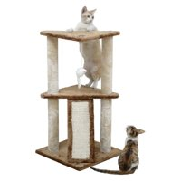 Go Pet Club 35 in. Cat Tree with Toy