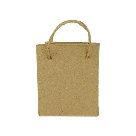 Pa Paper Mache Ornament Mini Bag Kraft