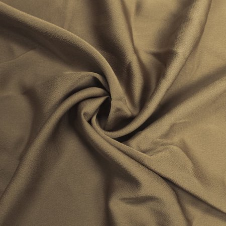 Taupe Bubble Satin 59'' 100% Poly  Fabric by the Yard
