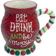Eat Drink Merry JB Mug, Set of 2