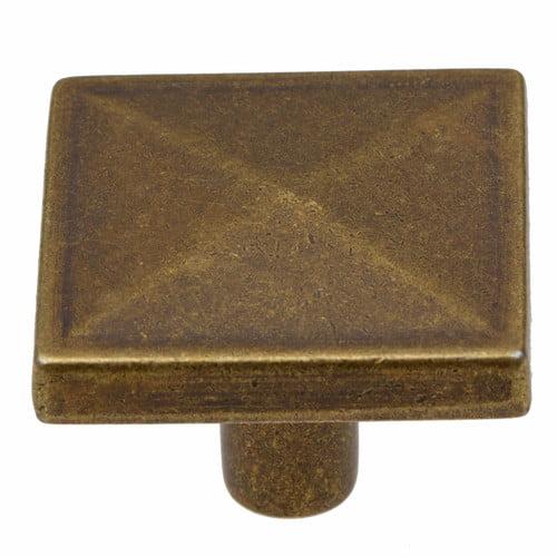 GlideRite Hardware Square Knob (Set of 10)