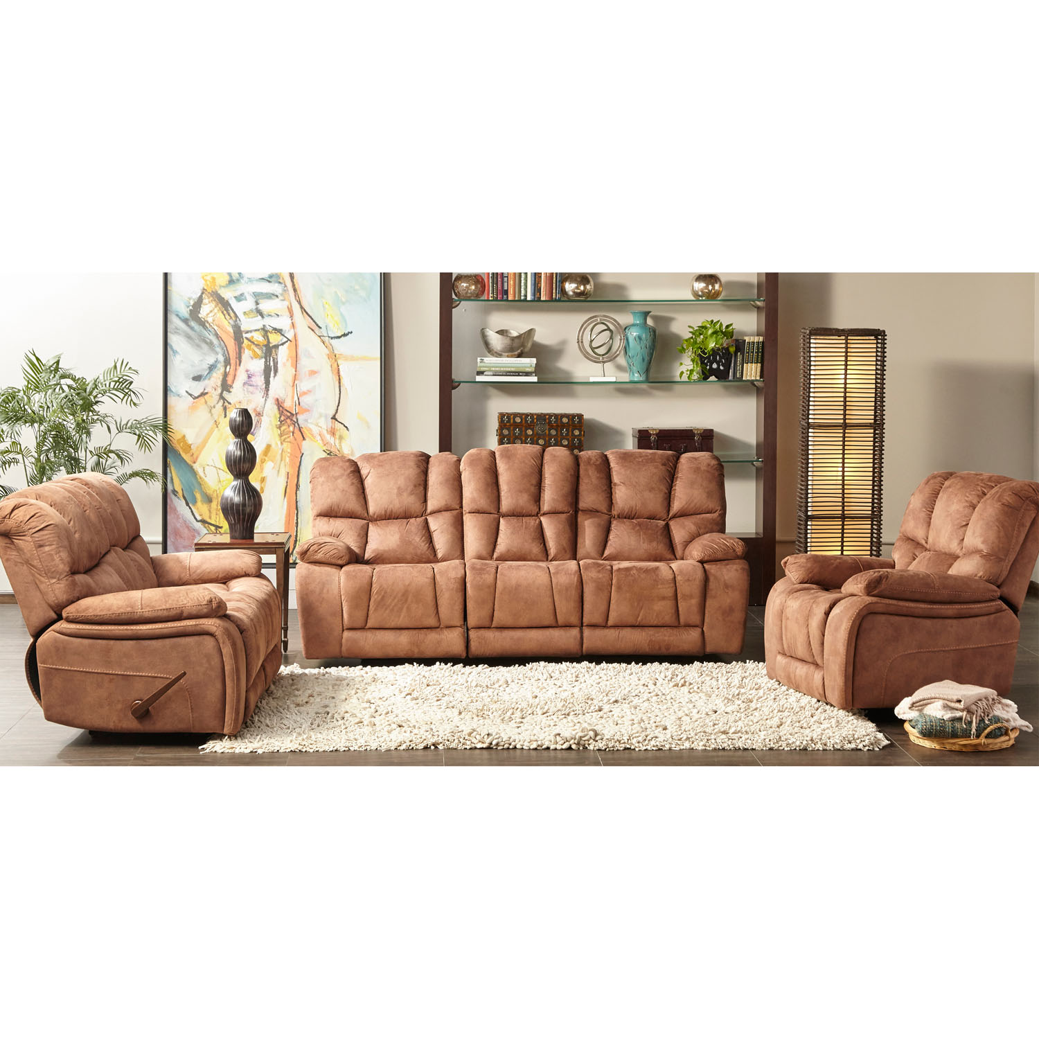 Cambridge Wolf Creek Double Reclining Sofa
