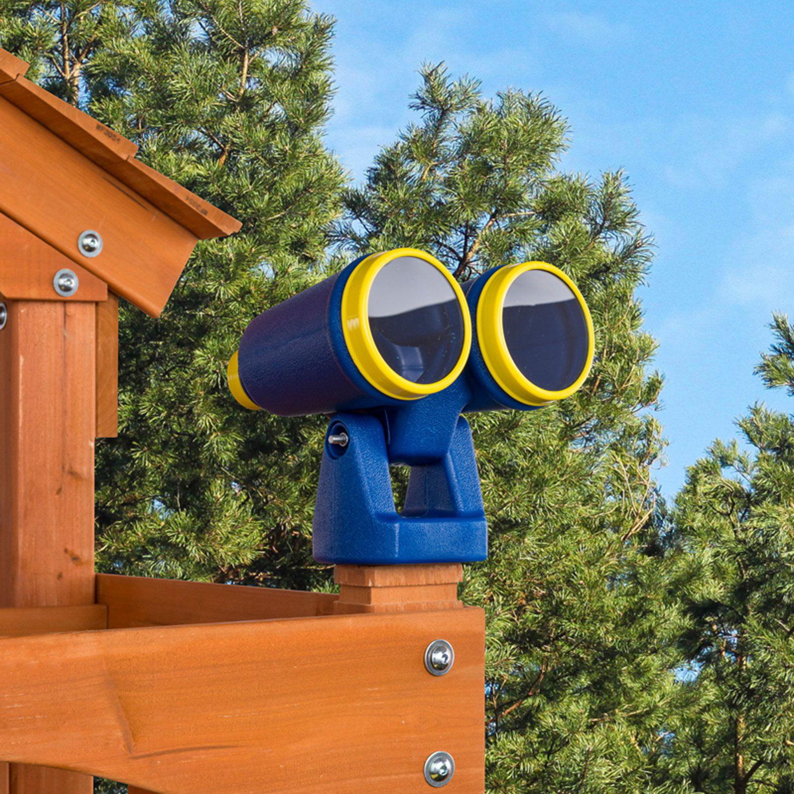 Creative Cedar Designs Playset Binoculars- Yellow