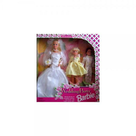 Barbie Wedding Party Giftset Special Edition w Stacie & Todd Dolls (1994)