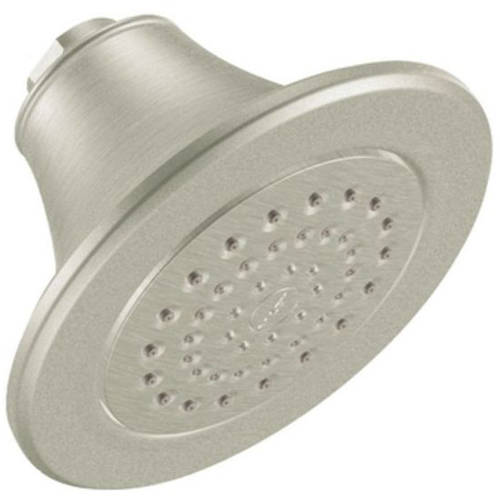 """Moen S6312EP Icon 5 7/8"""" Single Function Shower Head, Available in Various Colors"""