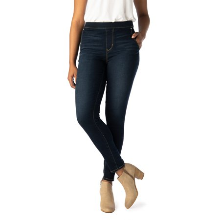 Signature by Levi Strauss & Co. Women's High Rise Pull On (Best Levis For Women)