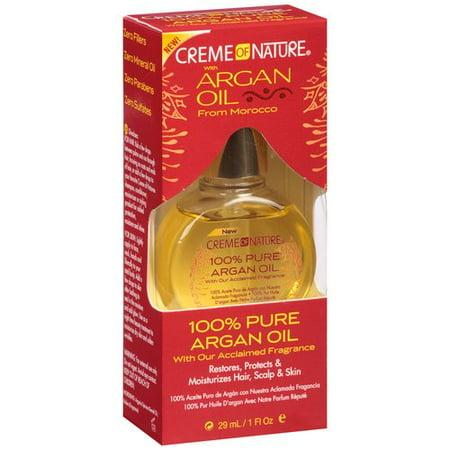 Creme of Nature 100% Pure Huile d'Argan, 1 fl oz