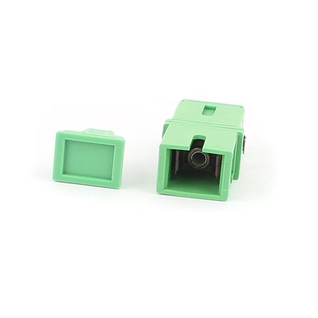 Single-mode SC-SC APC Simplex Fibre Coupler Flange Optical Fiber (Apc Fiber Optic)