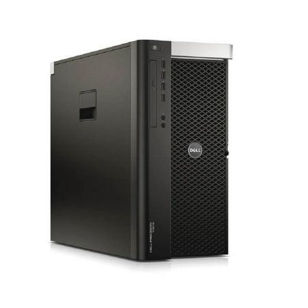 Refurbished Dell Precision T7610 Workstation 2x E5-2640 Six Core 2.5Ghz 128GB 256GB SSD K600 Win 10 Pre-Install - image 1 of 2