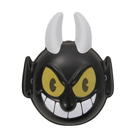 elope Cuphead The Devil Vacuform Costume Mask - Devil Mask