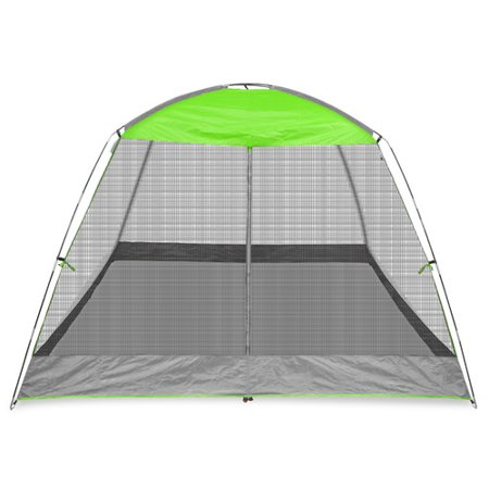Caravan Canopy Sports 10' x 10' Screen House Shelter, Lime Green (33 sq ft Coverage)