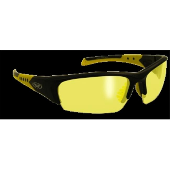 Bold  Glasses With Yellow Tint Lens