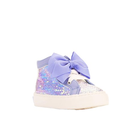Jojo Siwa Toddler Girls' Icy Blue High-top (Best Shoes For Icy Pavements)