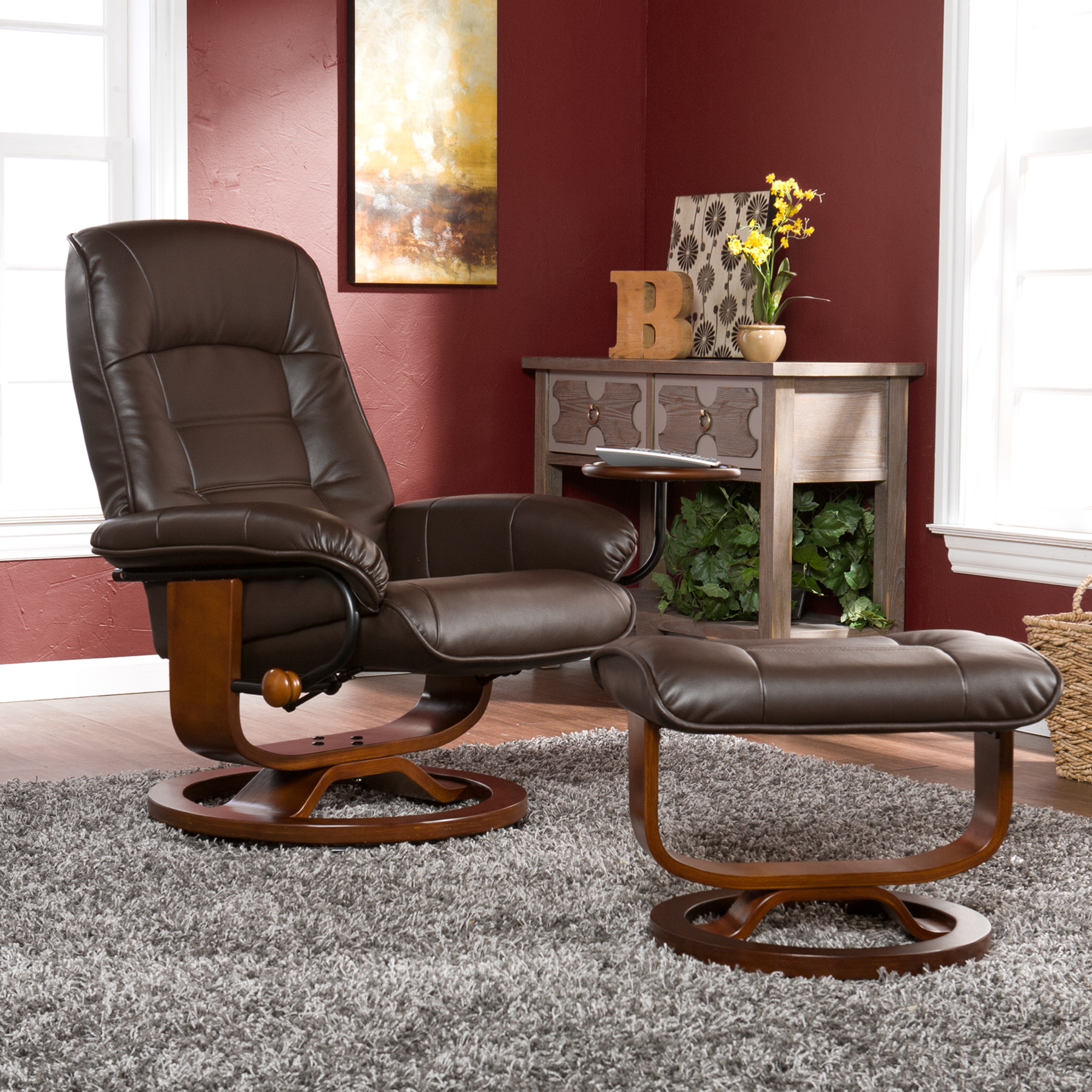 Terrific Jagger Recliner And Ottoman Multiple Colors Cjindustries Chair Design For Home Cjindustriesco