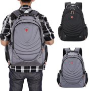 Men 16'' School College Backpack Laptop Rucksack Handbag Travel Shoulder Bag