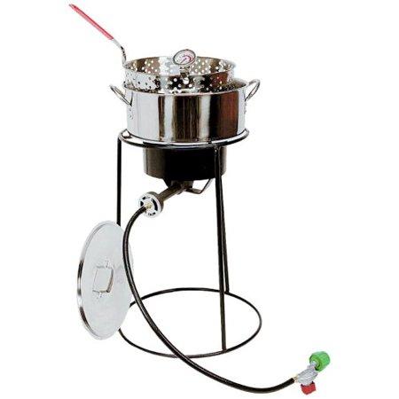 King kooker outdoor cooker fish fryer package for Walmart fish fryer
