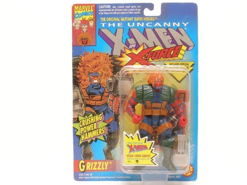 X-Men: X-Force > Grizzly Action Figure, Grizzly action figure By X Men Ship from US by