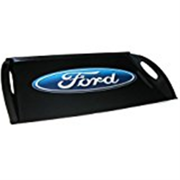 Motorhead Products 11 by 18-Inch Melamine Serving Tray, Featuring Ford Oval