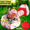 Yosoo 3 In 1 Children Baby Kids Play Tent Tunnel Play House Indoor Outdoor Toys