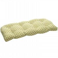 Hockley Green Wicker Loveseat Cushion