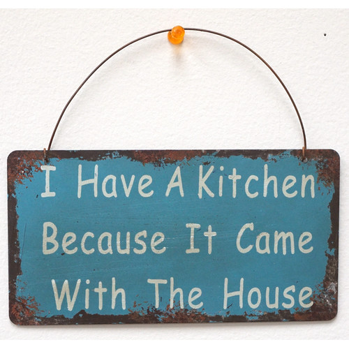 Attraction Design Home I Have a Kitchen Wisdom Sign Wall D cor