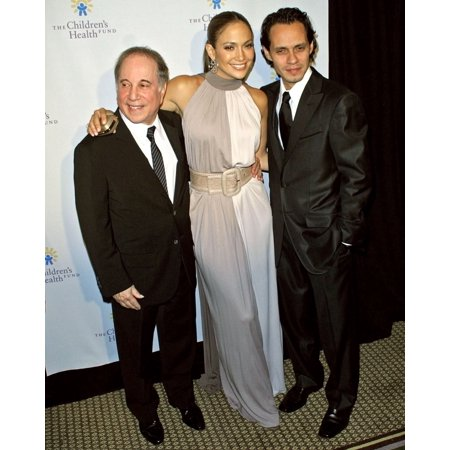 Paul Simon Jennifer Lopez Marc Anthony At Arrivals For 20Th Anniversary ChildrenS Health Fund Gala Dinner New York Hilton And Towers Hotel New York Ny May 30 2007 Photo By Steve MackEverett Collection (Jennifer Lopez Health)