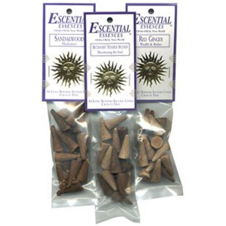 Frankincense and Myrrh - Escential Essences Cone Incense - 16 Cone Package - Escential Essences Cones
