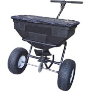 Vulcan Ytl31515 Push Walk Broadcast Spreader 125Lb Hopper 12Ft Wide Spread