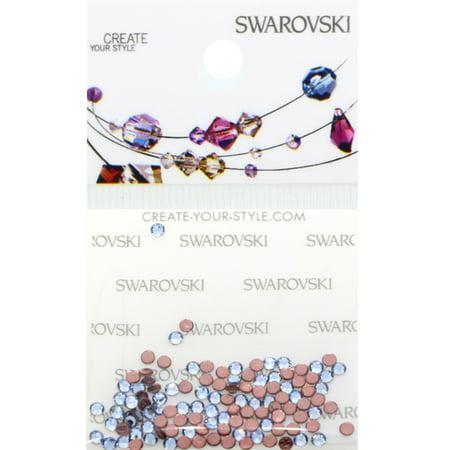 Swarovski 2038 Hot Fix Rhinestones FlatBack 6ss Light Sapphire 115 - Sapphire Hot Fix Rhinestones