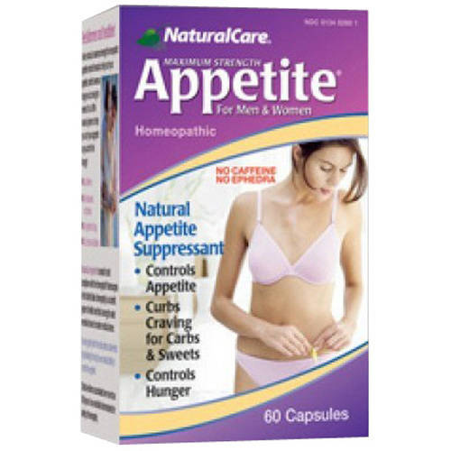 Natural Care Appetite Suppressant, 60 CT