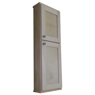 "Shaker Series 15"" x 43.5"" Surface Mount Medicine Cabinet by WG Wood Products"