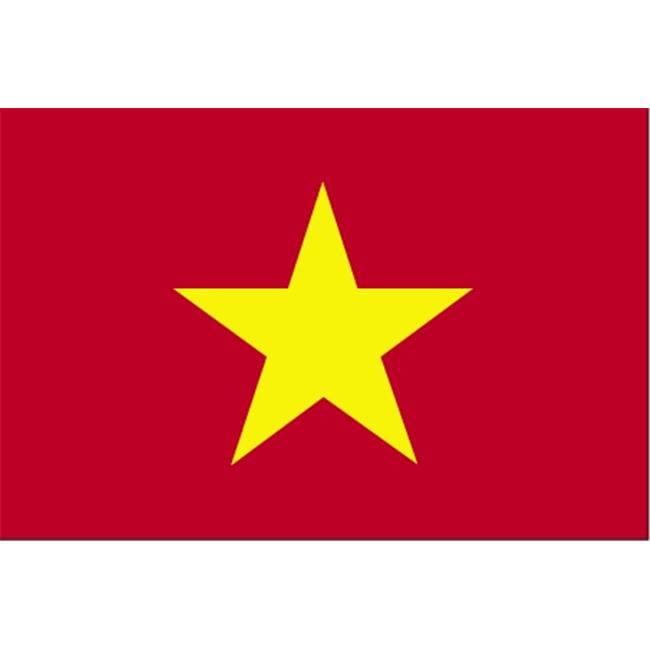 Annin Flagmakers 199234 3 ft. x 5 ft. Nyl-Glo Vietnam Flag by Annin Flagmakers