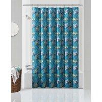 Your Zone Dinosaur Roar Microfiber Print Shower Curtain
