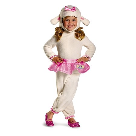 Disney Doc Mcstuffins Lambie Classic Toddler Costume, Medium/3T-4T, Quality materials used to make Disguise products By Disguise
