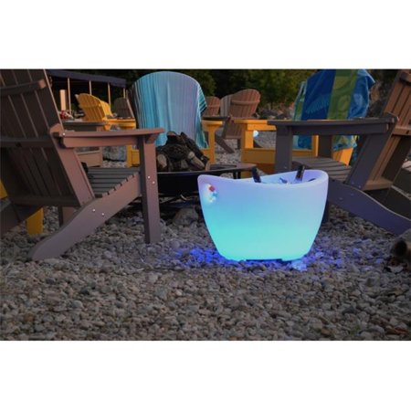 Main Access 131795 LED-Ice Chest-Weatherproof with remote, charging cord
