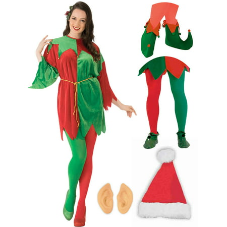 Elf Costume Adult Tunic Outfit Kit (Adult Elf Tunic)