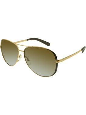 Women's Gradient Chelsea MK5004-1014T5-59 Bronze Aviator Sunglasses