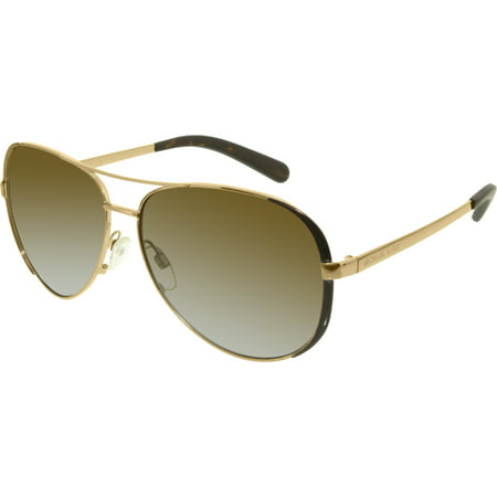Women's Gradient Chelsea MK5004-1014T5-59 Bronze Aviator Sunglasses