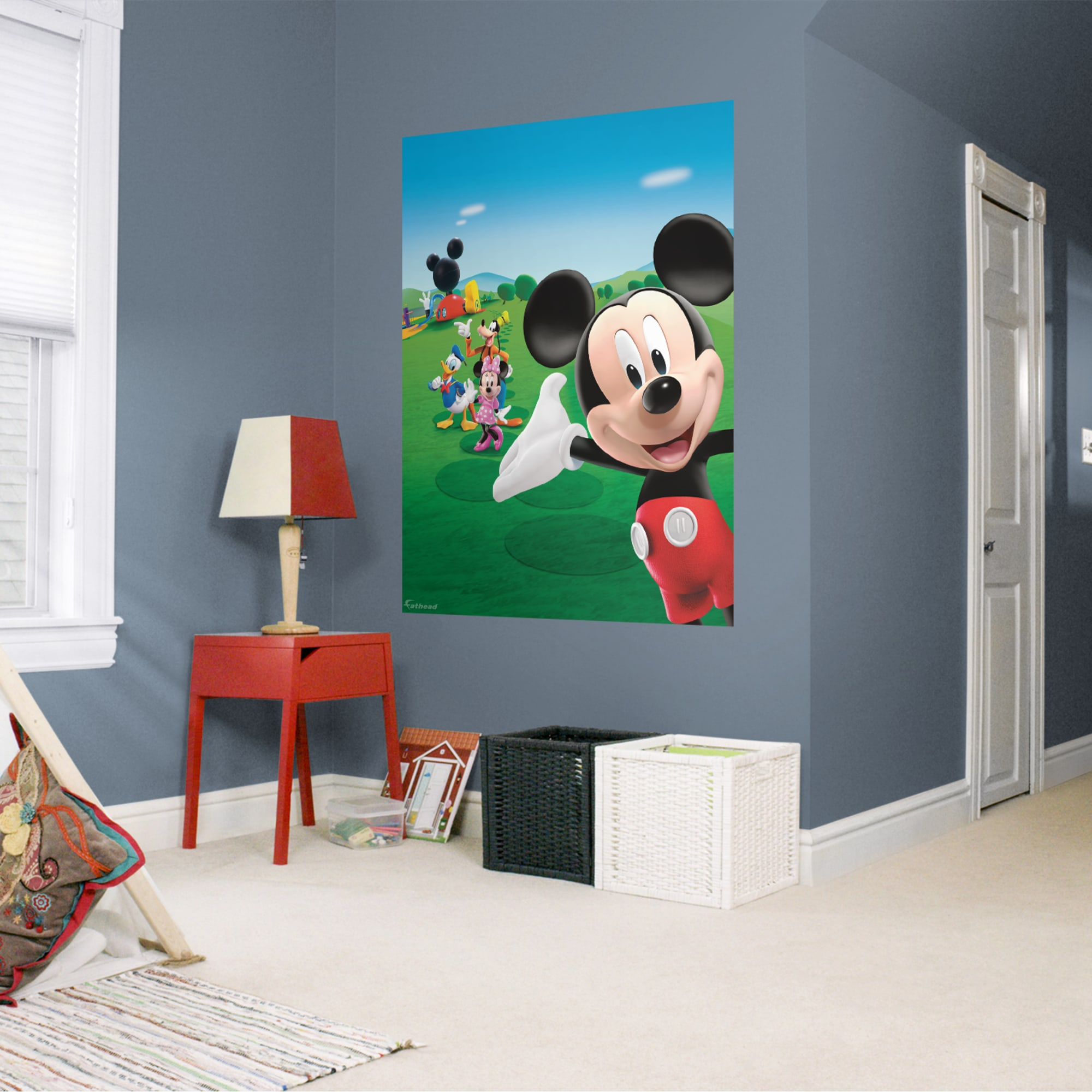 Fathead Mickey Mouse Clubhouse: Mural - Huge Officially ...