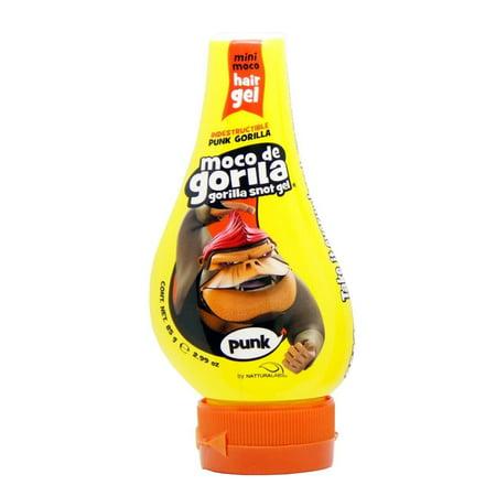 - Moco De Gorila Mini Punk Maximum Hold Hair Gel Easy Squeeze Bottle, 2.99 Oz / 84.7 gr.