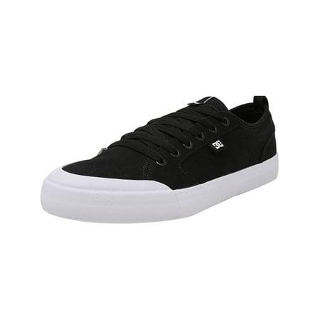 - Dc Men's Evan Smith Tx Black / White Ankle-High Canvas Skateboarding Shoe - 12M