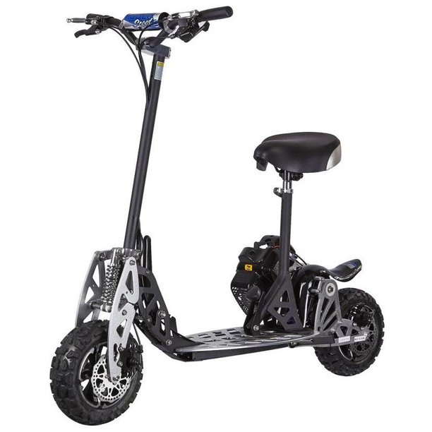 UberScoot 2x 2-Speed 50cc Stand Up Gas Powered Scooter