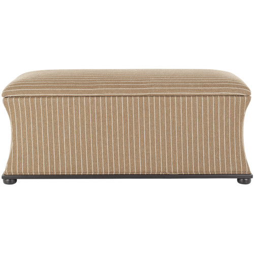 Ordinaire Safavieh Aroura Striped Storage Bench