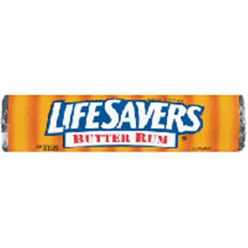 Lifesavers Butter Rum Candy 20 pack (14 ct per pack) (Pack of 6)