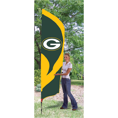 NFL Tall Team Flags, Green Bay Packers