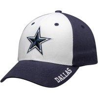 Men's White/Navy Dallas Cowboys Princeton Adjustable Hat - OSFA
