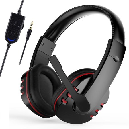 Electronic Sports Gaming Headset Mic Stereo Surround Headphone for PS4 PC Computer Phone Xbox One