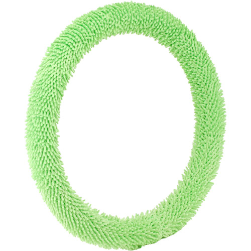 Bell Steering Wheel Cover, Shaggy Green